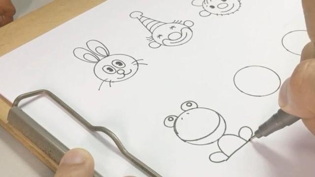 亲子绘画 桃子部落简笔画之一块钱的秘密