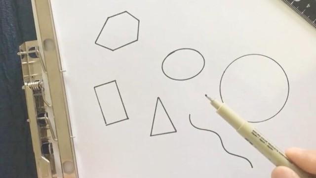 亲子绘画 桃子部落简笔画的基础造型 上